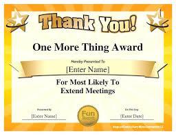 Printable Appreciation Certificates Certificates Funny Photo Templates Booth Printables Appreciation