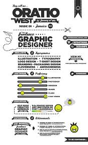 creative and energizing infographic resume