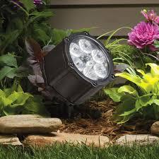image of kichler led landscape lighting