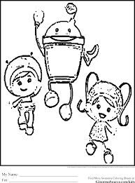 Team Umizoomi Coloring Pages 1