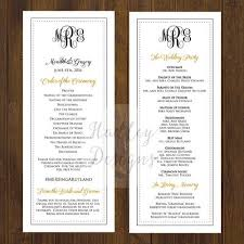 sample wedding ceremony program 25 parasta ideaa pinterestissä wedding program examples