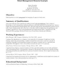 Retail Resume Sample Awesome Supermarket Supervisor Resume Retail Template Sales Environment