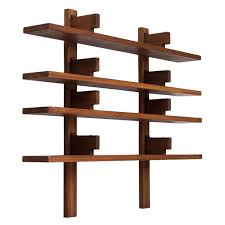 Pierre Chapo Biblioth¨que Wall Mounted Bookcase For Sale at 1stdibs
