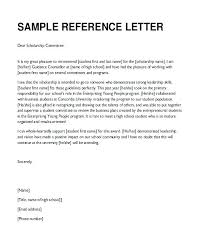 Resume Template For Letter Of Recommendation Letter Of References Template Stagingusasport Info