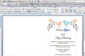 How To Make Wedding Invitations On Microsoft Word How To Make