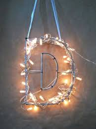 home decorating lighting. modren decorating hanging letter decorated with christmas lights in home decorating lighting o