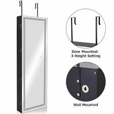 door wall mount touch screen led light
