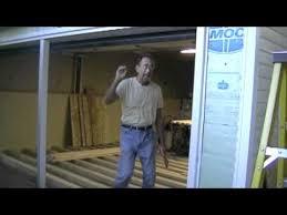 garage conversion part 6 removing garage door build a wall mov you