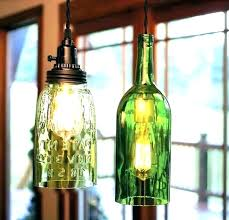 diy wine bottle chandelier com pottery barn