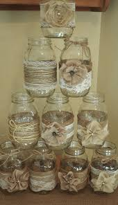 Decorating With Mason Jars And Burlap 100 Rustic Mason Jar Burlap Lace Wedding Decorations kavanoz 55