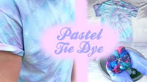 Light Colored Tie Dye Shirts Pastel Tie Dye Diy 3 Dying Techniques Jonathan Eiter