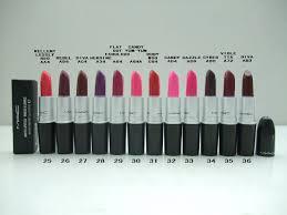 manufacturers mac makeup matte lipstick