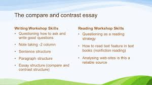 meeting the diverse needs of all learners in socials studies  36 the compare and contrast essay