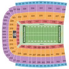 Boone Pickens Stadium Seating Chart Stillwater