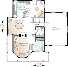 guest house floor plans. Compact Guest House Plan - 2101DR Floor Main Level Plans P