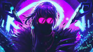 KDA Eve wallpaper, Neon art, 4K ...