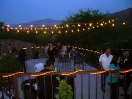 outdoor patio string lights ideas