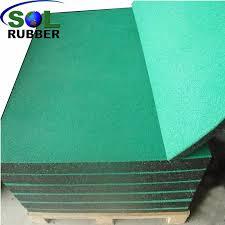 outdoor playground rubber flooring mat