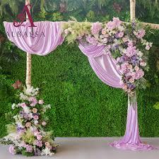 Wedding Photo Background New Product Ideas 2018 Ice Silk Wedding Background Curtains Wedding Stage Drape Backdrop Decoration Buy Wedding Stage Drape Backdrop Decoration Ice