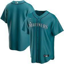 Men's Nike Aqua Seattle Mariners ...