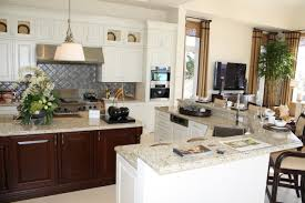 florida kitchen design ideas. kitchen has maple cabinetry; perimeter cabinetry painted in \ florida design ideas o