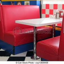 restaurant booth clipart. Plain Restaurant A Oldfashioned Red Leather Booth At The Diner Photos For Sale To Restaurant Booth Clipart D