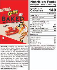 cheetos oven baked flamin hot