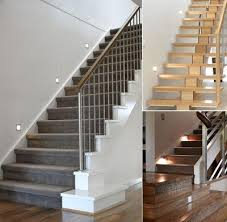 stair lighting. 20 creative and modern staircase lighting designs 4 stair s