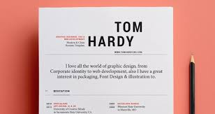 Modern Looking Font For Resume 130 New Fashion Resume Cv Templates For Free Download