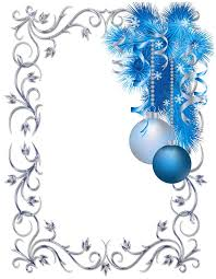 blue clipart holiday