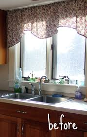 lofty idea curtains for the kitchen window decorating