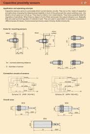 description of 4 wire dc capacitive proximity sensors and switches description of capacitive sensors for direct current 4 wire