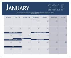 Fitness Schedule Template Web Image Gallery Workout Calendar