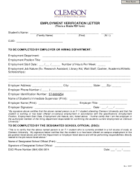 2018 Employment Verification Letter Templates Fillable Printable
