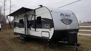 2017 puma xle 25fbc travel trailer toy hauler c out rv in stratford