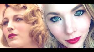 the age of adaline blake lively makeup tutorial