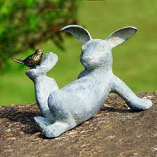 garden animal statues. Fine Statues Garden Bunny I Really Think Need This My Pinterest Animal  Statues To D