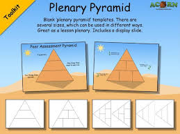 The Plenary Seating Chart Plenary Pyramid Templates