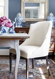 bailey dining chair in gatsby woven fabric in flax dining chairsdining rooms