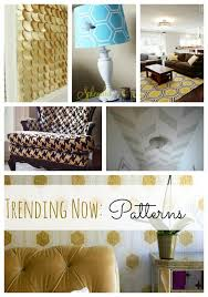 trending design geometric patterns in home decor