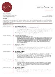 009 Template Ideas Elliot Alderson Software Developer Resume Samples