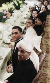 history and culturethe only known picture of jinnah and iqbal together this is at the round table conference
