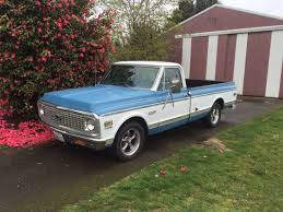All Chevy c10 72 chevy : 1972 Chevy C10 with Gray Ridler 695 Wheels
