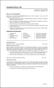 Resume Format For Fresh Graduate Nurses