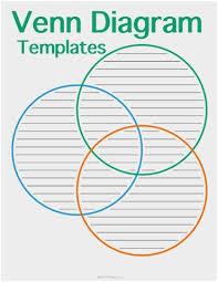 Triple Venn Diagram Problems Three Circle Venn Diagram Template Prettier Printable Venn Diagram