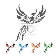 Fototapeta Phoenix Tribals Tetování