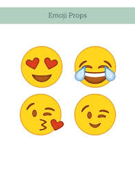 emoji photobooth props