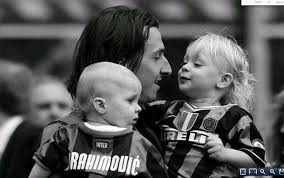 Zlatan ibrahimovic is a swedish footballer and one of the finest forwards of the game. Zlatan With Sons