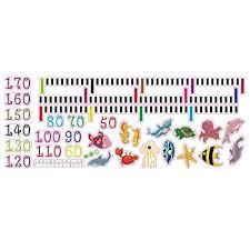 Amazon Com Qianduoo Kids Height Measure Chart Sticker