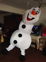 Hot Selling Best Price New Olaf Mascot Costume Adult Size Olaf ...